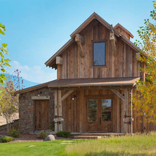 Rustic Exterior by Van Bryan Studio Architects