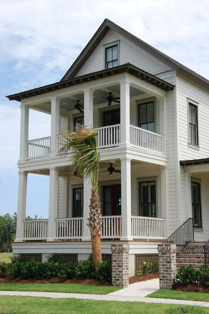 traditional exterior by JacksonBuilt Custom Homes
