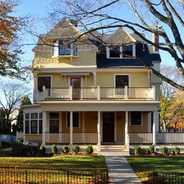 Jamaica Plain Historic Victorian Remodel