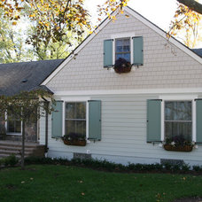Traditional Exterior by 21st Century Building Company