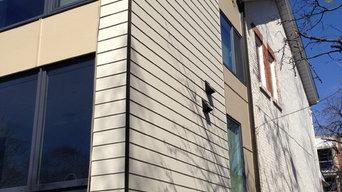 James Hardie wall siding