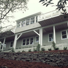 Traditional Exterior by James Hill Architect, AIA