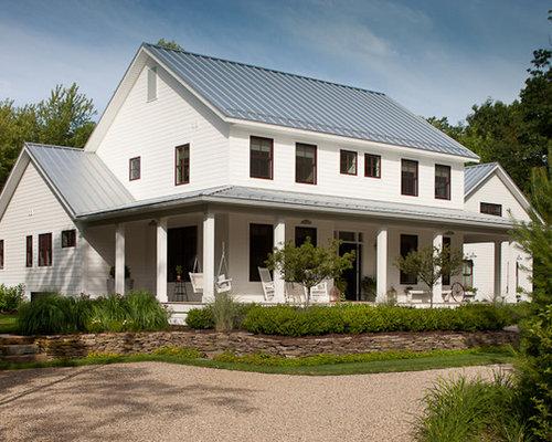 Farmhouse Chicago Exterior Design Ideas Remodels & s