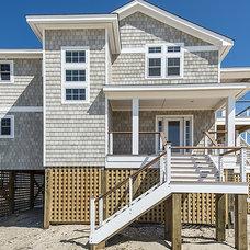 Beach Style Exterior by Tab Winborne Corporation