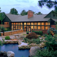 Contemporary Exterior by Studio Durham Architects