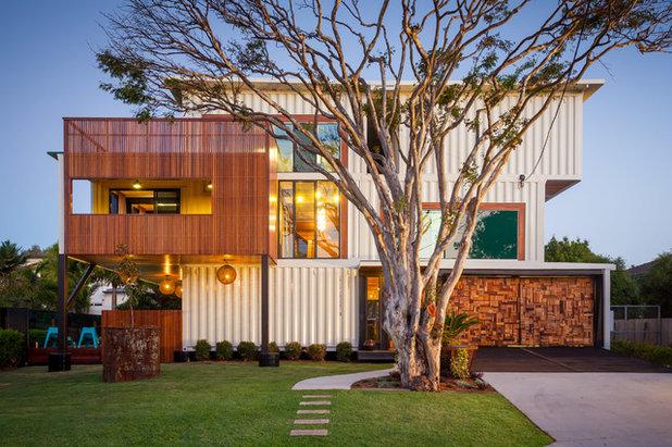 Contemporary Exterior by Ziegler Build