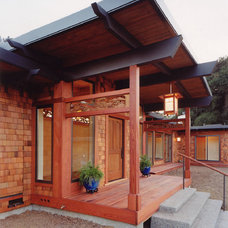Asian Exterior by M. Designs Architects