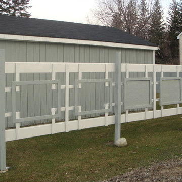 Japanese Inspired Fence: Traditional Design with Modern Flair