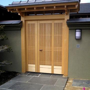 Japanese-style Entrance Gate