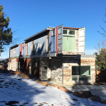 Jay Street Shipping Container House