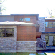 Contemporary Exterior by Bailey Designs