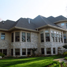 Traditional Exterior by Jeff Hibbard Design Services