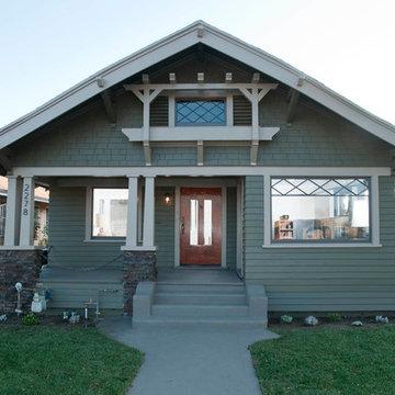 Jefferson Park Craftsman bungalow restoration