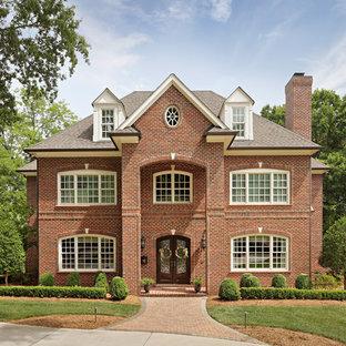 Jefferson Wade Tudor Brick Home - North Carolina
