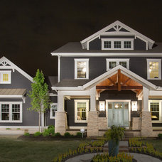 Craftsman Exterior by Romanelli & Hughes Custom Home Builders