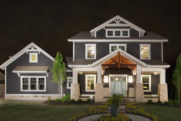 Craftsman Exterior by Romanelli & Hughes Custom Home Builders