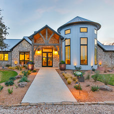 Contemporary Exterior by Veranda Fine Homes