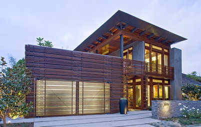 Wood Slats in Design: Repetition, Scale and Light