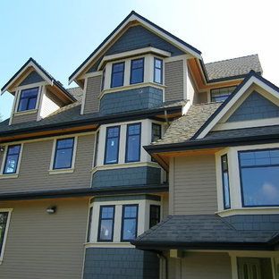 Inspiration for a timeless exterior home remodel in Vancouver