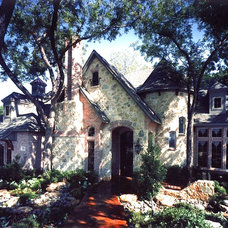 Traditional Exterior by John Lively & Associates