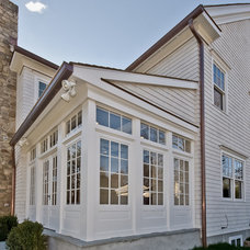 Traditional Exterior by C Interiors