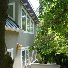 Contemporary Exterior by Ruhf Plitt Architects, Ltd.