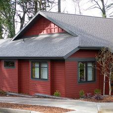 Exterior by John Cava, Architect