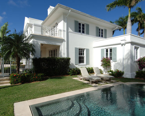 White Stucco House Ideas Pictures Remodel And Decor