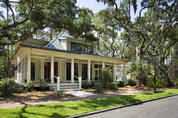 Traditional Exterior by Frederick + Frederick Architects