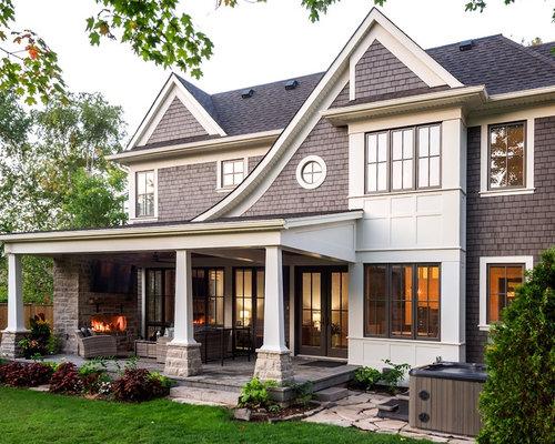 Plantas de casas estilo americano latest estilo europeo y for Casas estilo americano interiores