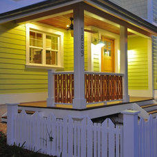 Eclectic Exterior by josh wynne construction