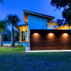 Modern Exterior by josh wynne construction