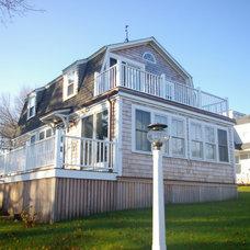 Traditional Exterior by Duxborough Designs