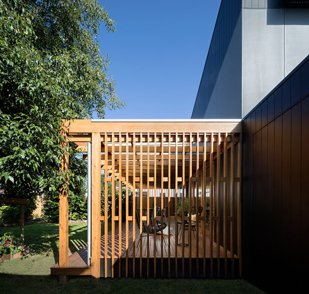 Contemporary Exterior by Mihaly Slocombe