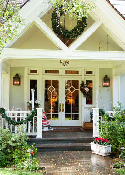 Traditional Exterior by Janet Paik