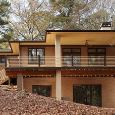 Modern Exterior by JR McDowell Homes