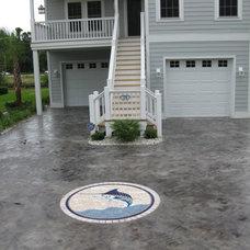 Tropical Exterior by Art Mosaics of the Carolinas, LLC
