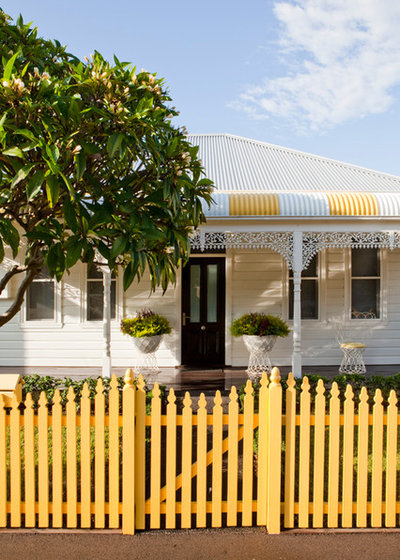 Traditional Exterior by Horton & Co. Designers