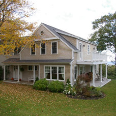 Traditional Exterior by Duxborough Designs