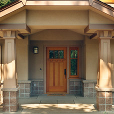 Craftsman Exterior by Neil L. Warne, Architect