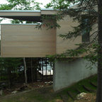 Modern Cabin Modern Exterior Burlington By Joan