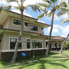 Tropical Exterior by Coulter Construction