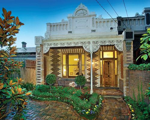 Victorian Brick Exterior Design Ideas Renovations Photos