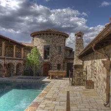 Mediterranean Exterior by Habitations Residential Design Group