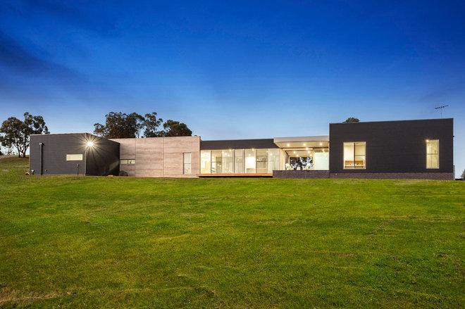 Contemporary Exterior by Steve Laux Building Designs