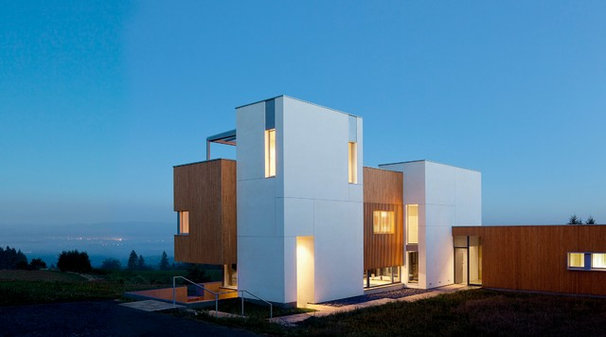 Contemporary Exterior by Hammer & Hand