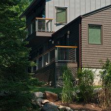 Rustic Exterior by Fivecat Studio | Architecture