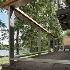 Modern Exterior by Fivecat Studio | Architecture