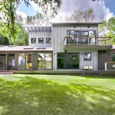 Contemporary Exterior by Fivecat Studio | Architecture