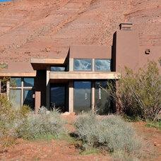 Contemporary Exterior by Jay Vanos Architects